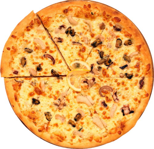 Пицца «Морской коктейль»